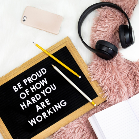 Be proud of how hard you are wfh during covid